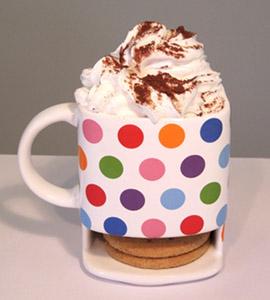 Mocha Coffee in a Dunk Mug from mochacasa.com