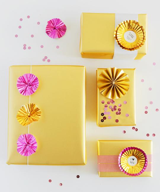 Cake Decorating Gifts Ideas : Seven Original Gift Wrapping Ideas Mocha   Mocha Casa Blog