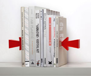 Arrow Bookends - Mocha