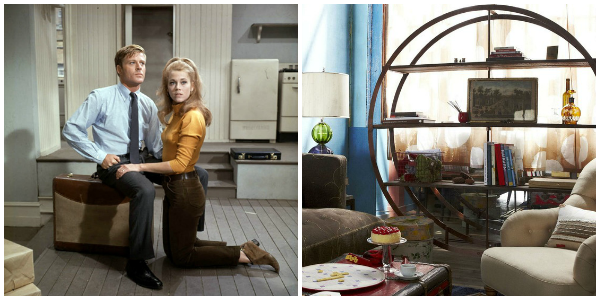 Inspiration from 60s films and industrial design