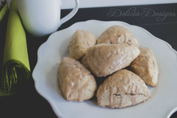 Recipes Pumpkin Spice Scones - Mocha UK Blog