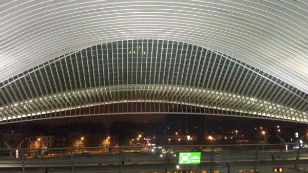 Santiago Calatrava Liege Station