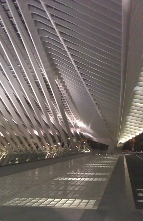 Liege Station by Architect Santiago Calatrava