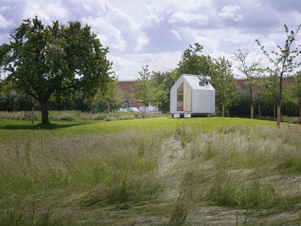 Diogene Cabin from Vitra by Renzo Piano - Mocha UK