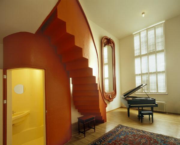 Lloyd Hotel Amsterdam classic music room from Mocha UK blog