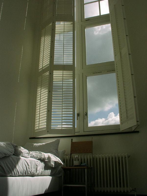 Lloyd Hotel Amsterdam high windows from Mocha UK blog
