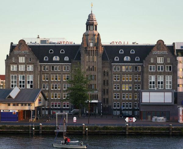 Lloyd Hotel Amsterdam Building from Mocha UK blog