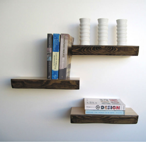 Bark Shelves from Mocha - How to Declutter Your Home