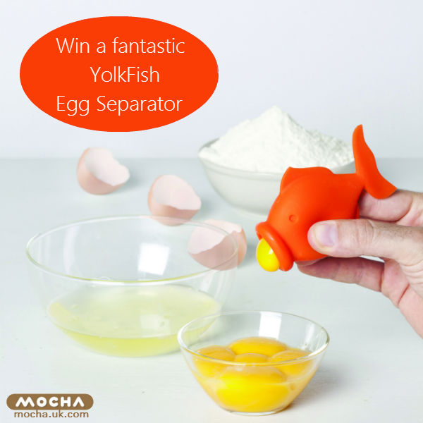 yolkfish egg separator by Peleg Design from Mocha