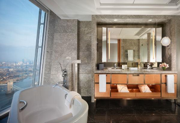 Shangri-La Hotel at The Shard London Bathroom - Mocha