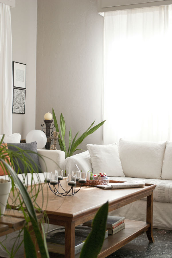 Living Room by Eleni Pysllaki of My Paradissi on Mocha UK Blog