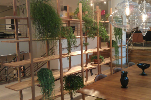 Room Divider With Plants In The Conran Shop