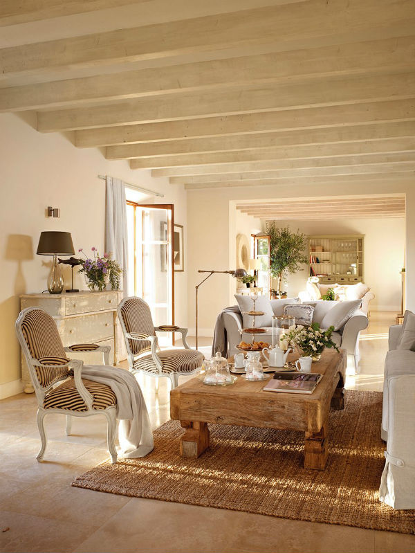 Mediterranean Living Room Ideas Mocha Casa Blog