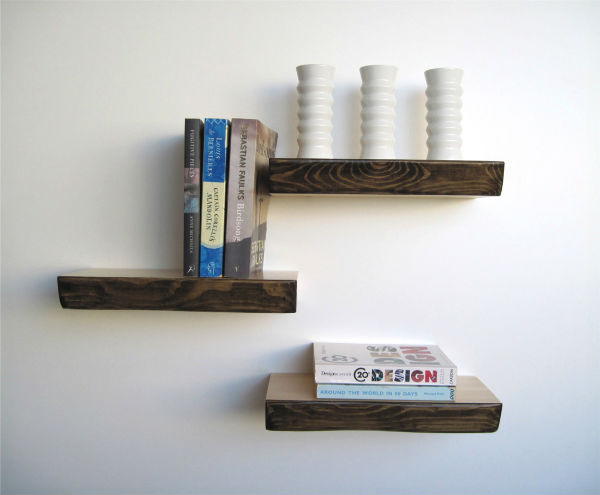 Shelfie Bark Floating Shelves from Mocha