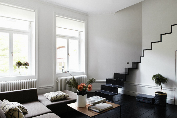 Scandinavian Design Minimalist Living Room