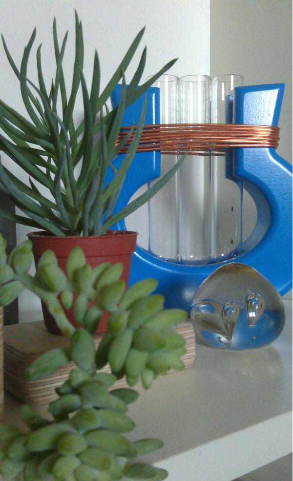 harp vase urban jungle bloggers shelfie