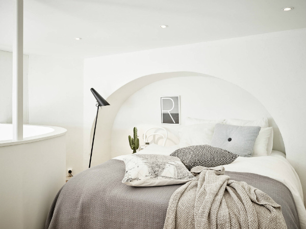 Mezzanine Scandinavian design bedroom