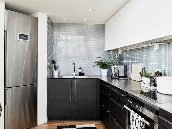 Minimalist Scandinavian style kitchen