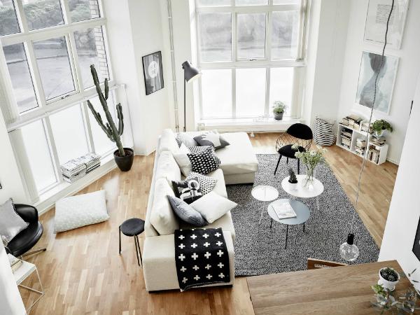 Scandinavian design lounge