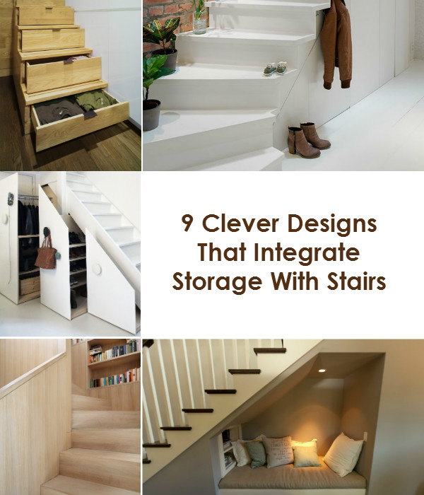 Nine Clever Designs That Integrate Storage With Stairs | Mocha UK Blog