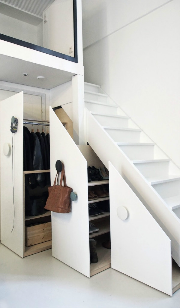 nine clever designs that integrate storage with stairs mocha casa blog. Black Bedroom Furniture Sets. Home Design Ideas