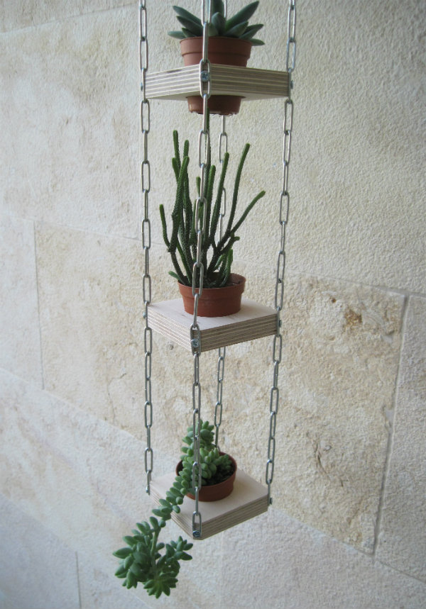 Succulent hanging planters from Mocha