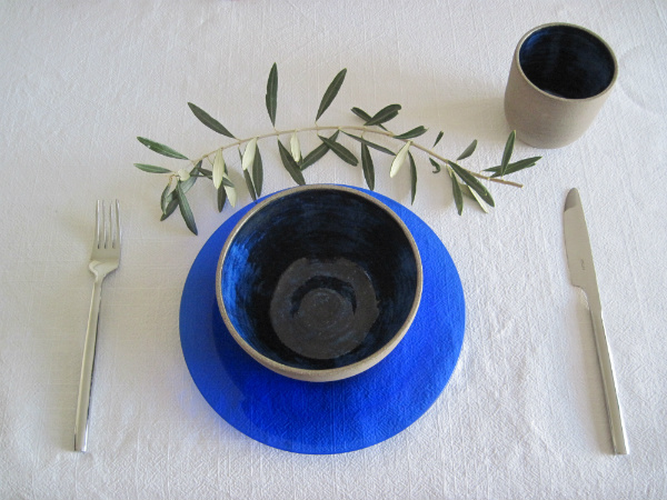 Mediterranean style tableware from Mocha
