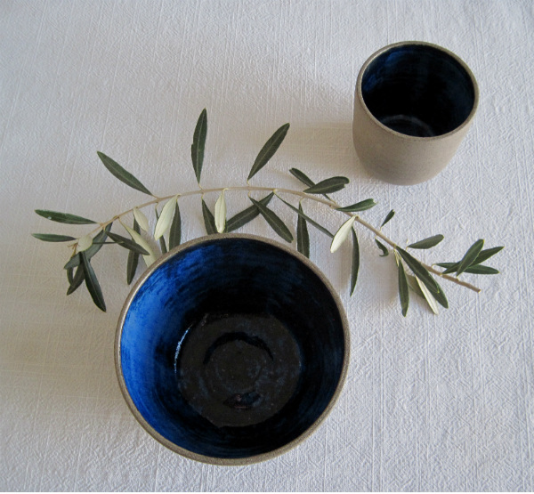 Rustic Mediterranean ceramic tableware from Mocha