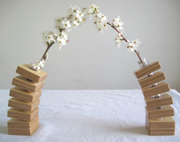 Spring Vase blossom arch from Mocha