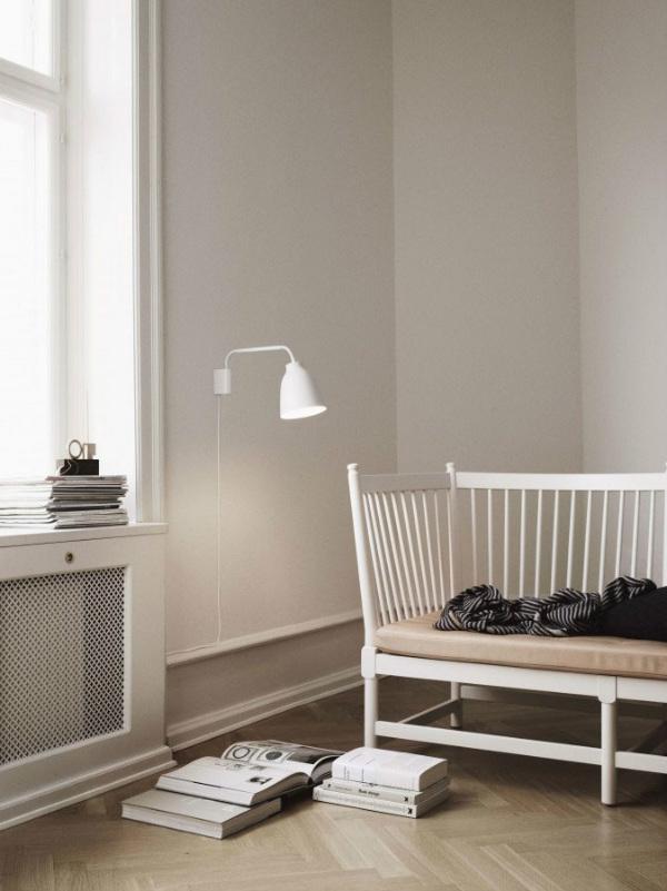 Lighting for a reading corner