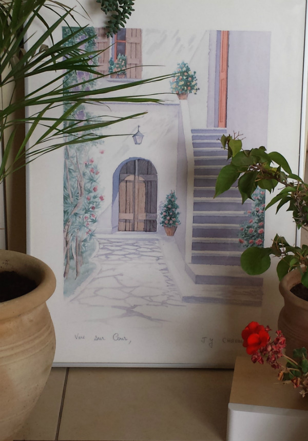 Mediterranean plants and art from Mocha