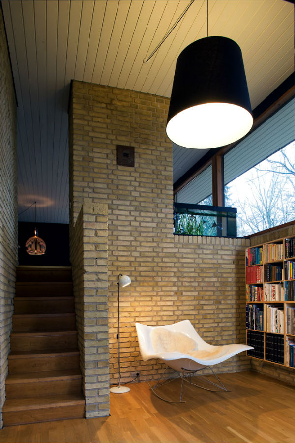 Reading corner Scandinavian style