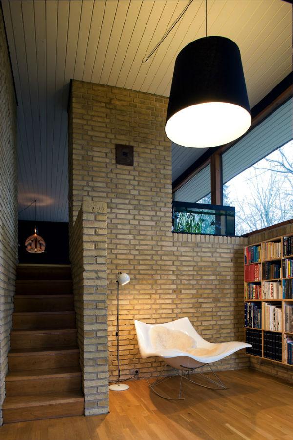 Reading corner Scandinavian style