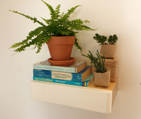 Urban Jungle Bloggers Plant Shelfie Vignette from Mocha