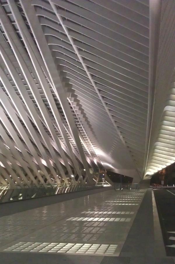 Biophilic architecture: Santiago Calatrava Liege Guillemins Station