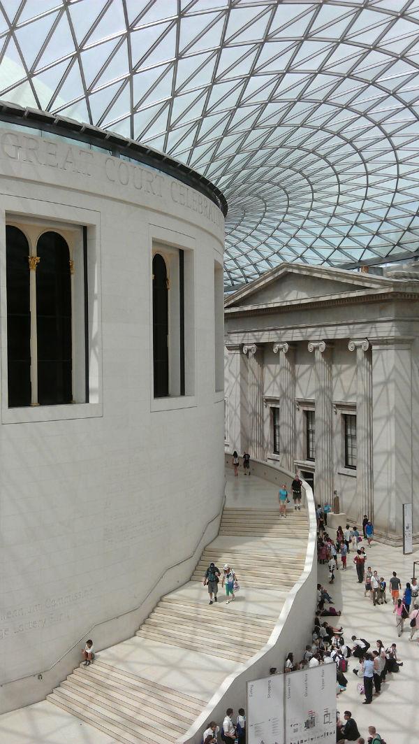 British Museum - biophilic architecture