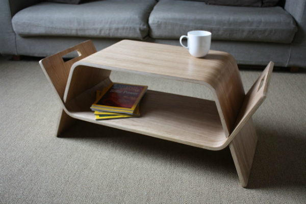 Embrace Coffee Table and Bench