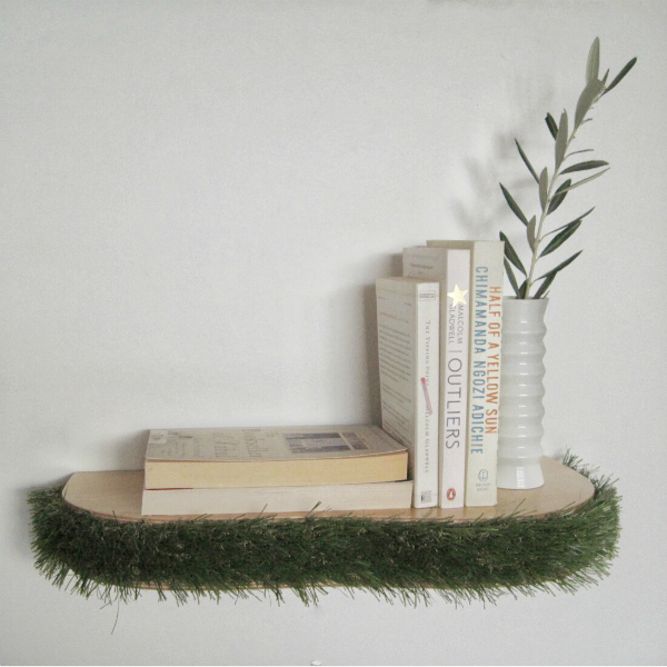 how to make floating book shelf