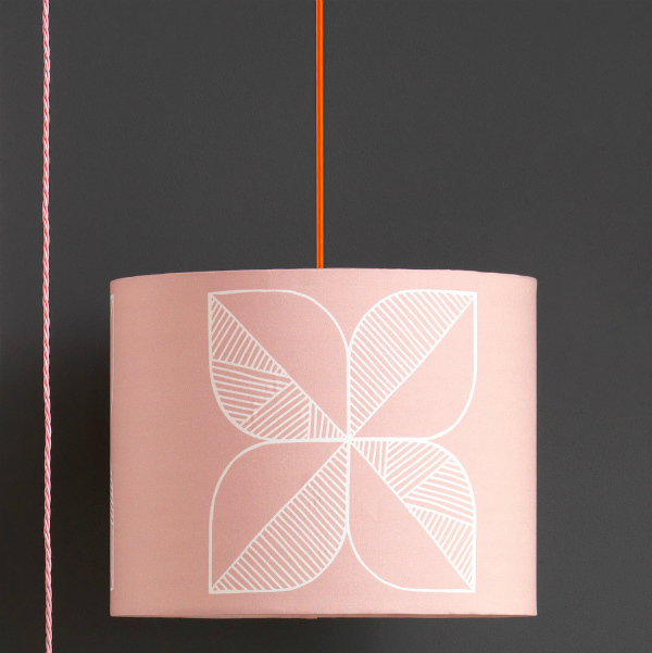 Large Rosette Lampshade by Sian Elin from mochacasa.com