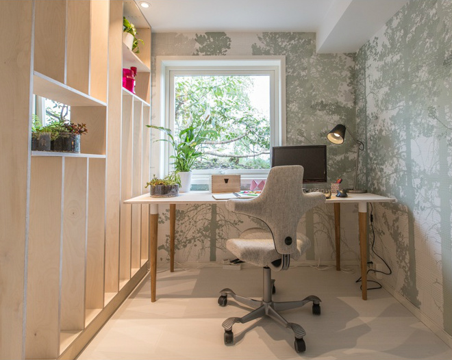 Biophilic Home Office by Oliver Heath on Mocha Casa Blog
