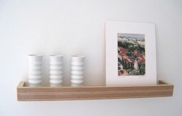 Picture Ledge Floating Shelf from Mocha Casa