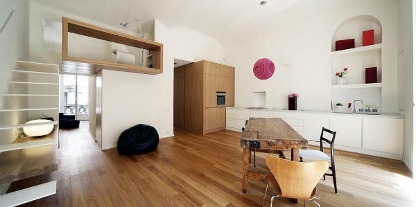 A Minimalist Apartment In Turin, Italy