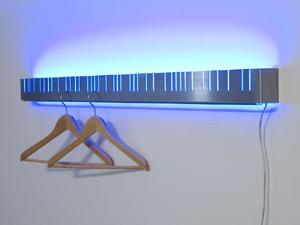 Kleiderleiste Illuminated Coat Rack