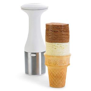 Ice Cream Scoop and Snack