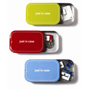 Just In Case Magnetic Storage Box