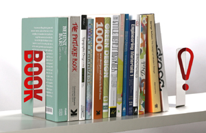 Reflective Bookends