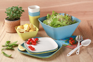 Urban Bamboo Collection Tableware