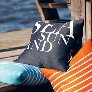 Bretagne Cushions - Mocha