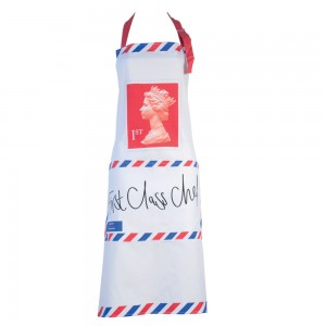 First Class Chef Apron - Mocha