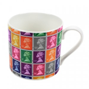 Multi Stamp Mug - Mocha